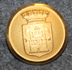 Trelleborg kommun. Ruotsalainen kunta, 23mm, kullattu