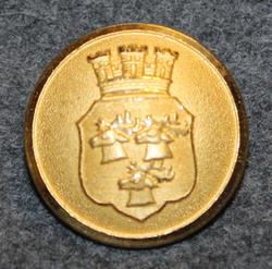 Umeå kommun. Swedish municipality, 24mm, gilt