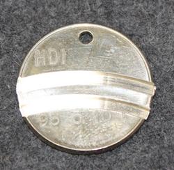 HDI 93 o 10L, fuel token, 1956