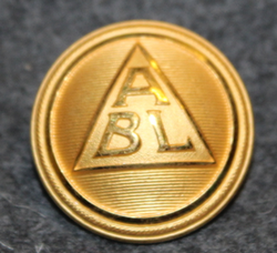 Broströms Linjeagentur, shipping company, 23mm gilt LAST IN STOCK