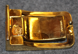 Göteborgs Kungliga Segelsällskap, GKSS, Royal Gothenburg Yacht Club, 33mm belt buckle