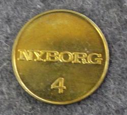 Nyborg 4, pyykkirahake
