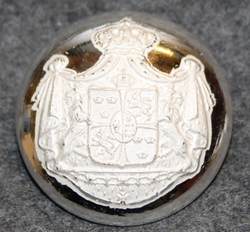 Swedish Coat of Arms, Court Livery, 30mm, v2 LAST ON STOCK