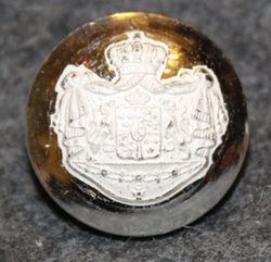 Swedish Coat of Arms, Court Livery, 17mm LAST ON STOCK