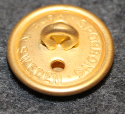 A/S Dansk Securitas, old version. 16mm, gilt