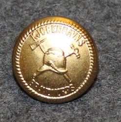 Kjøbenhavns brandkorps, kööpenhaminan palokunta, 15mm, gilt