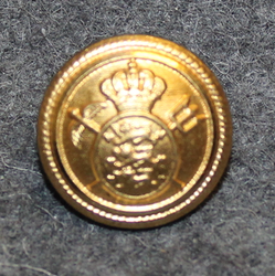 Toldvæsenet, Danish Customs. 16mm gilt