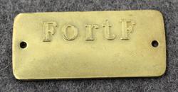 Kungliga Fortifikationsförvaltningen, Swedish Fortifications Administration.