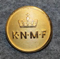 Kongelig Norsk Motorbåt Forbund, Royal Norwegian Motorboat association. 23mm, gilt