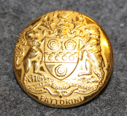Onwards and Upwards, Fattorini, Button and Badge manufacturer, 24mm gilt