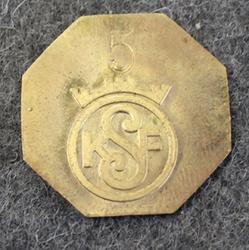 KSF Konsumentföreningen Stockholm 5. Osuuskunnan rahake