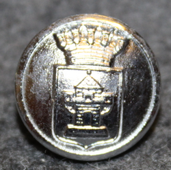 Nyköpings kommun. Swedish municipality, 14mm, nickel