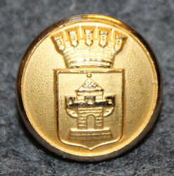 Nyköpings kommun. Swedish municipality, 14mm, gilt LAST IN STOCK