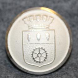 Nässjö kommun. Ruotsalainen kunta, 22mm
