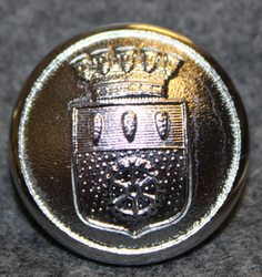 Nässjö kommun. Swedish municipality, 22mm, nickel