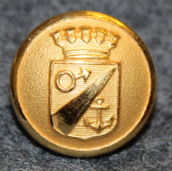 Oxelösunds kommun. Swedish municipality, 13mm, gilt