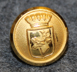 Piteå kommun. Swedish municipality, 14mm, gilt