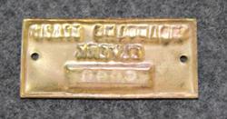 Tidaholms Stads Elverk. Brass