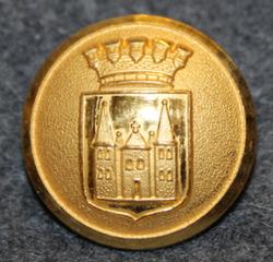 Skara kommun. Ruotsalainen kunta, 22mm, kullattu, v2
