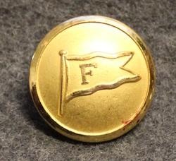 Forsman Sightseeing AB, laivayhtiö, 22,5mm, kullattu