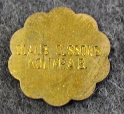 Olaus Olssons Kolimport AB, Coal importer, 1HL