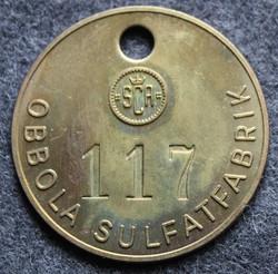 Svenska Cellulosa Aktiebolaget SCA, Obbola sulfatfabrik, 35mm, numbered