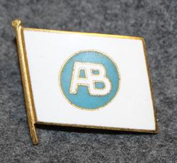 Rederi AB Albatross, shipping company cap badge. v2