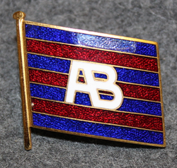 Ångfartygs AB Tirfing, shipping company cap badge. Small v2