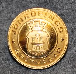 Jönköpings spårvägar. Tramway, 24mm, gilt