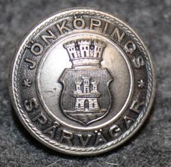 Jönköpings spårvägar. Raitiotiet, 14mm, harmaa