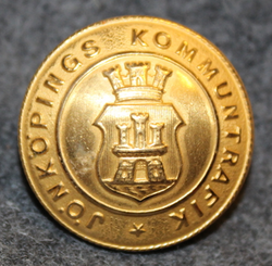 Jönköpings Kommuntrafik, public transport, 23mm, gilt