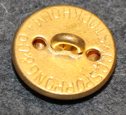 Rederi AB Disa, shipping company, 19mm gilt