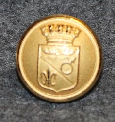 Fagersta kommun. Ruotsalainen kunta, 14mm, kullattu
