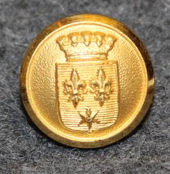 Gränna stad. Ruotsalainen kunta, 13mm, kullattu <1952