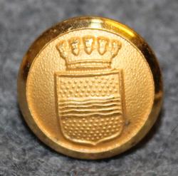 Värnamo stad. Swedish municipality, 13mm, gilt