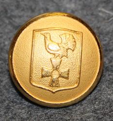 Österhaninge landskommun. Swedish municipality, 16mm, gilt