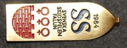 Svenska skidspelen Falun 1984. Swedish Ski Games