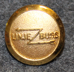 Linjebuss International AB, Bus / shipping company, 14mm, gilt