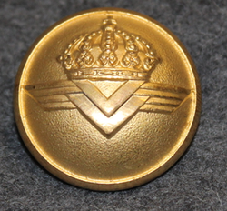 Luftfart Styrelsen, Swedish Civil Aviation administration. 25mm gilt