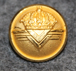 Luftfart Styrelsen, Swedish Civil Aviation administration. 13mm gilt v3