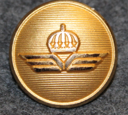 Luftfartsverket, Swedish Civil Aviation administration. 20mm gilt