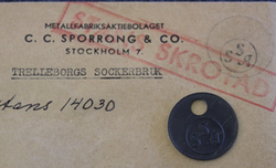 Trelleborgs Sockerbruk, sugar factory.