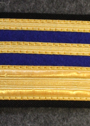 Finnish navy Cuff insignia, Support Lieutenant
