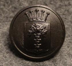 Blekinge län, Swedish County. 22mm, black