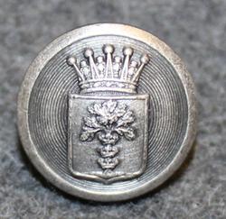 Blekinge län, Swedish County. 14mm, gray