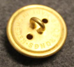 Kopparbergs län, Swedish County. 23mm, gilt