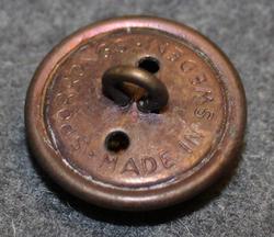 Kopparbergs län, Swedish County. 23mm, bronze