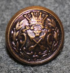 Kopparbergs län, Swedish County. 13mm, bronze