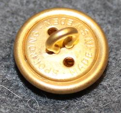 Kopparbergs län, Swedish County. 14mm, gilt