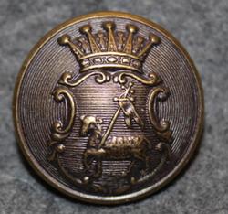 Gotlands län, Swedish County. 23mm, bronze LAST IN STOCK